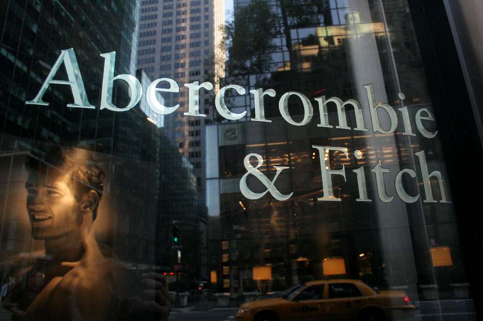 Abercrombie And Fitch Sign For abercrombie & fitch